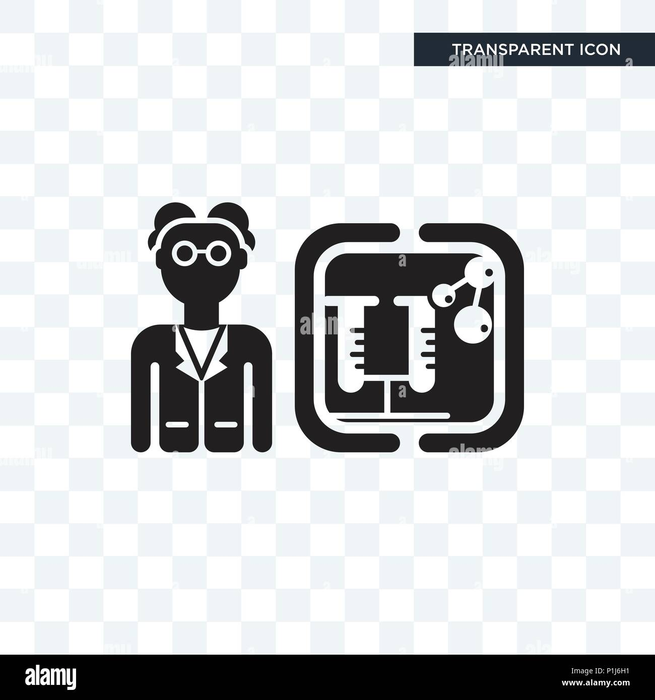 scientist vector icon isolated on transparent background scientist logo concept stock vector image art alamy https www alamy com scientist vector icon isolated on transparent background scientist logo concept image207539389 html