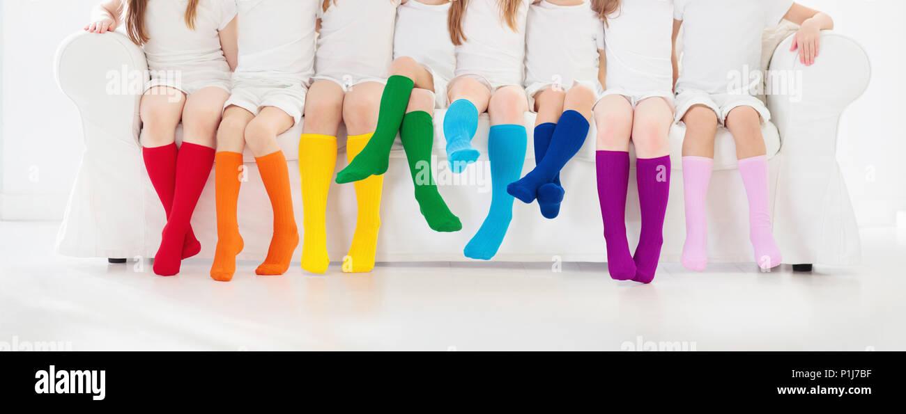 0bba09562 Knee High Socks Stock Photos   Knee High Socks Stock Images - Alamy