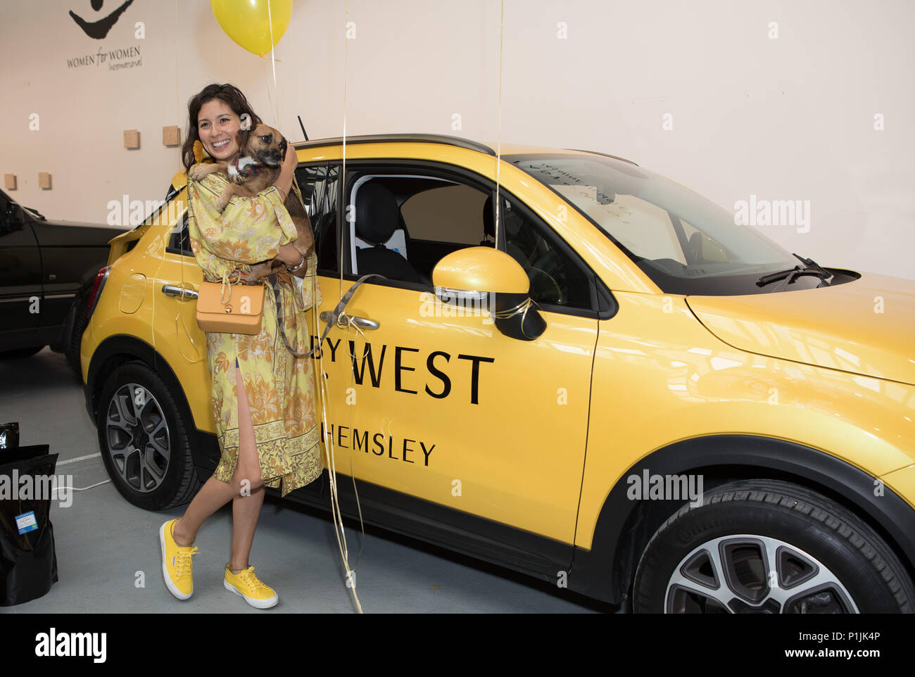 Celebs attend Women for Women International #SheInspiresMe Car Boot Sale - press preview & photocall  Featuring: Jasmine Hemsley Where: London, United Kingdom When: 12 May 2018 Credit: Phil Lewis/WENN.com Stock Photo