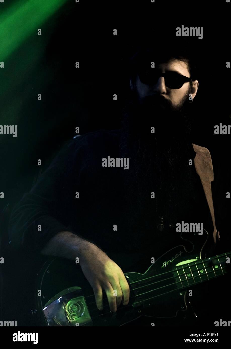 TBI, Cheltenham Jazz Festival 2017 - Stock Image