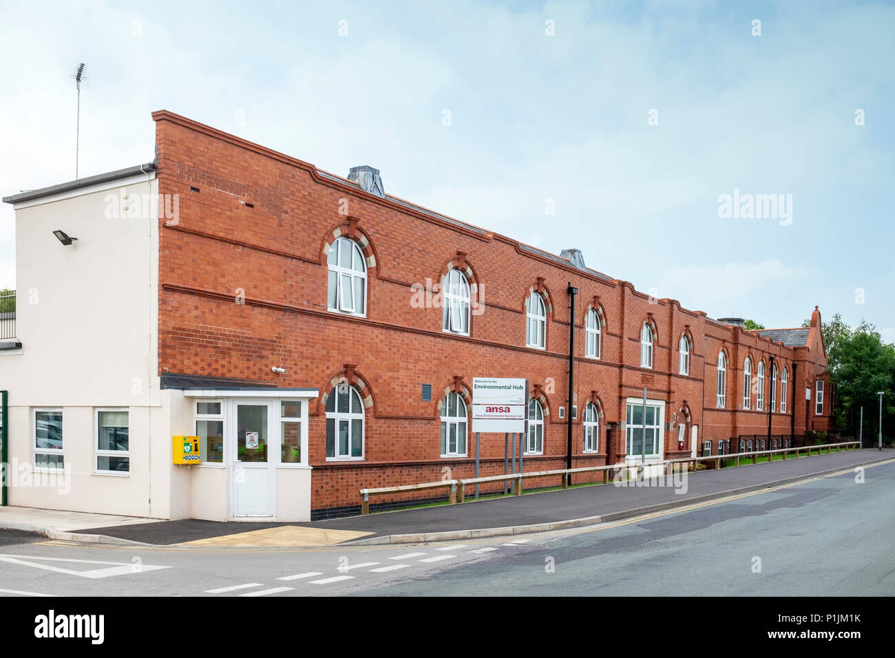 Ansa environmental service Ltd in Middlewich Cheshire England UK Stock Photo