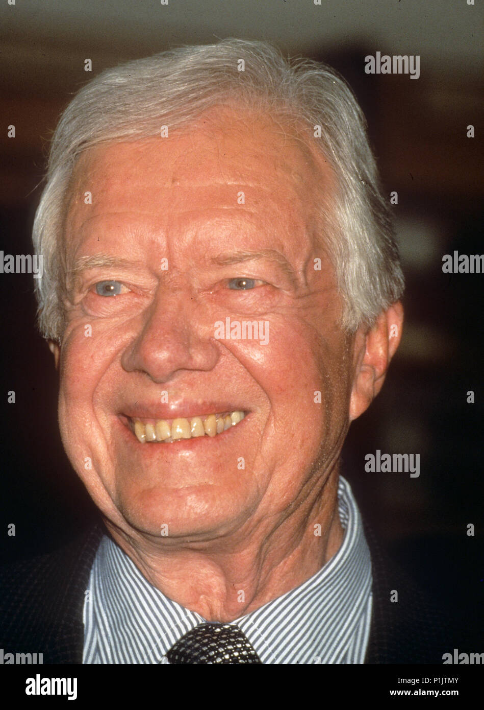 JIMMY CARTER former US President about 1995 - Stock Image