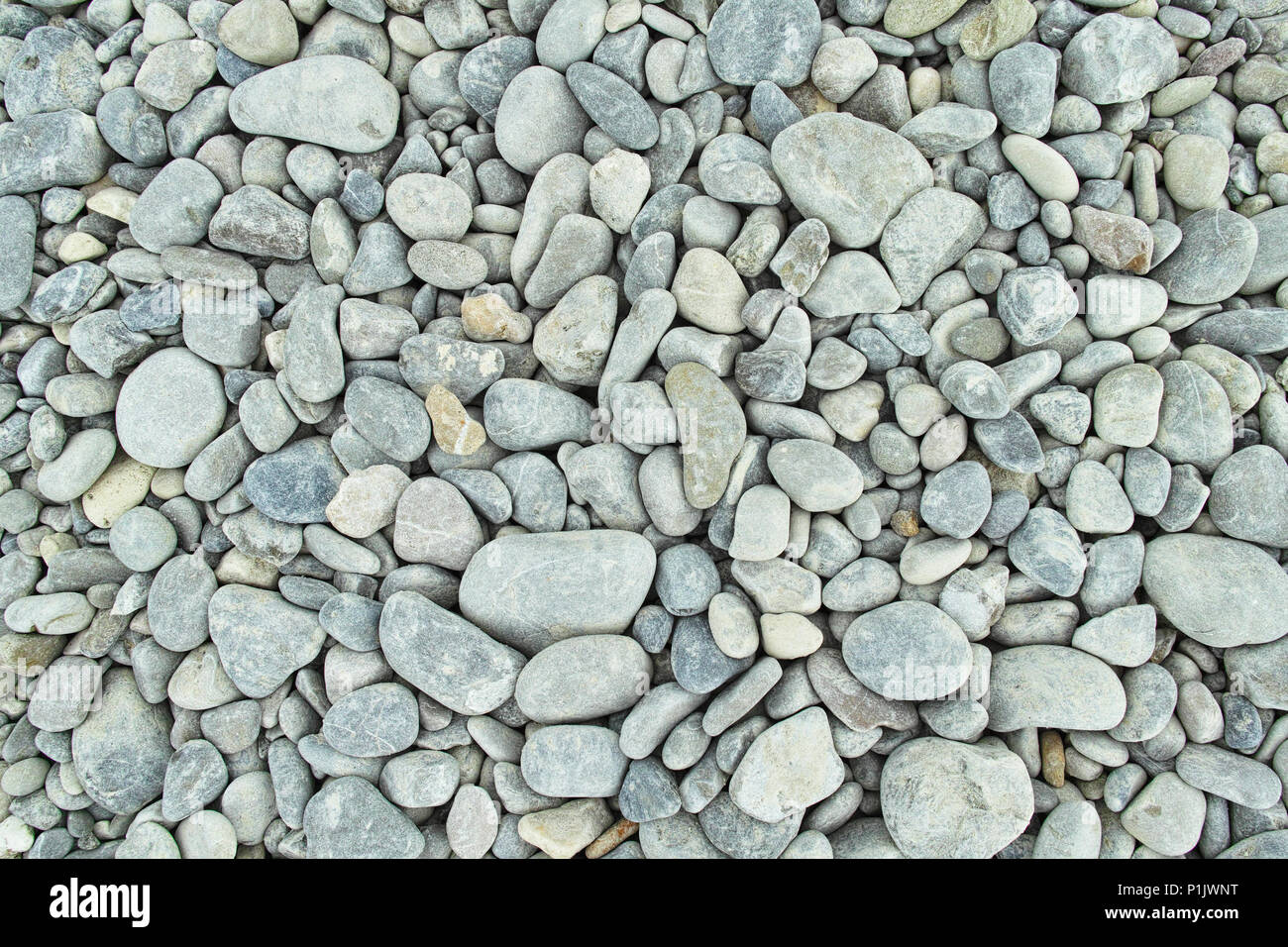 stones beach - Stock Image