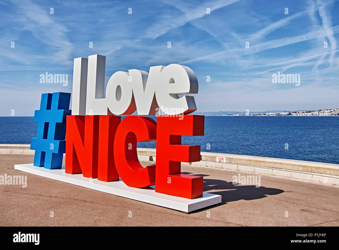 NiceFrance  City Park Stock Photo