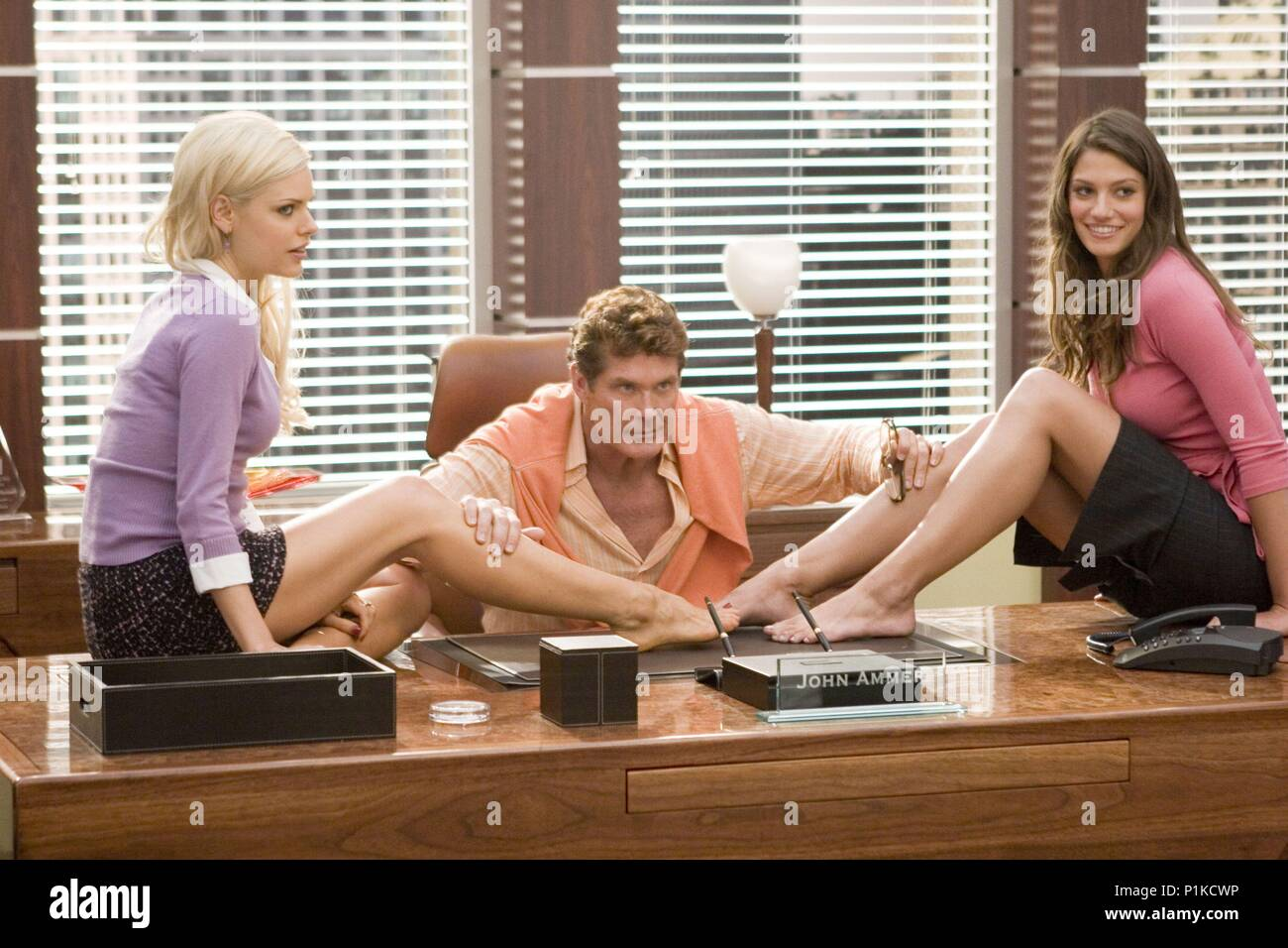 Original Film Title: CLICK.  English Title: CLICK.  Film Director: FRANK CORACI.  Year: 2006.  Stars: DAVID HASSELHOFF; MICHELLE LOMBARDO; SOPHIE MONK. Credit: COLUMBIA PICTURES / BENNETT, TRACY / Album - Stock Image