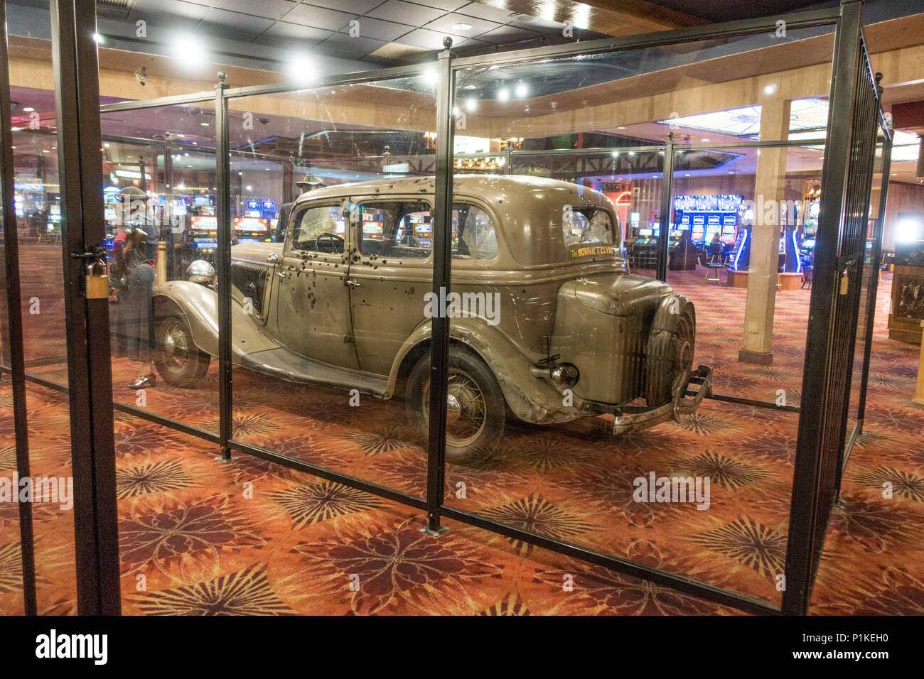 where is the bonnie and clyde car today