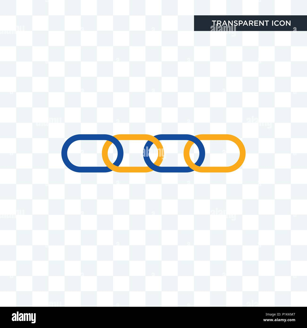 Supply Chain Vector Icon Isolated On Transparent Background Supply