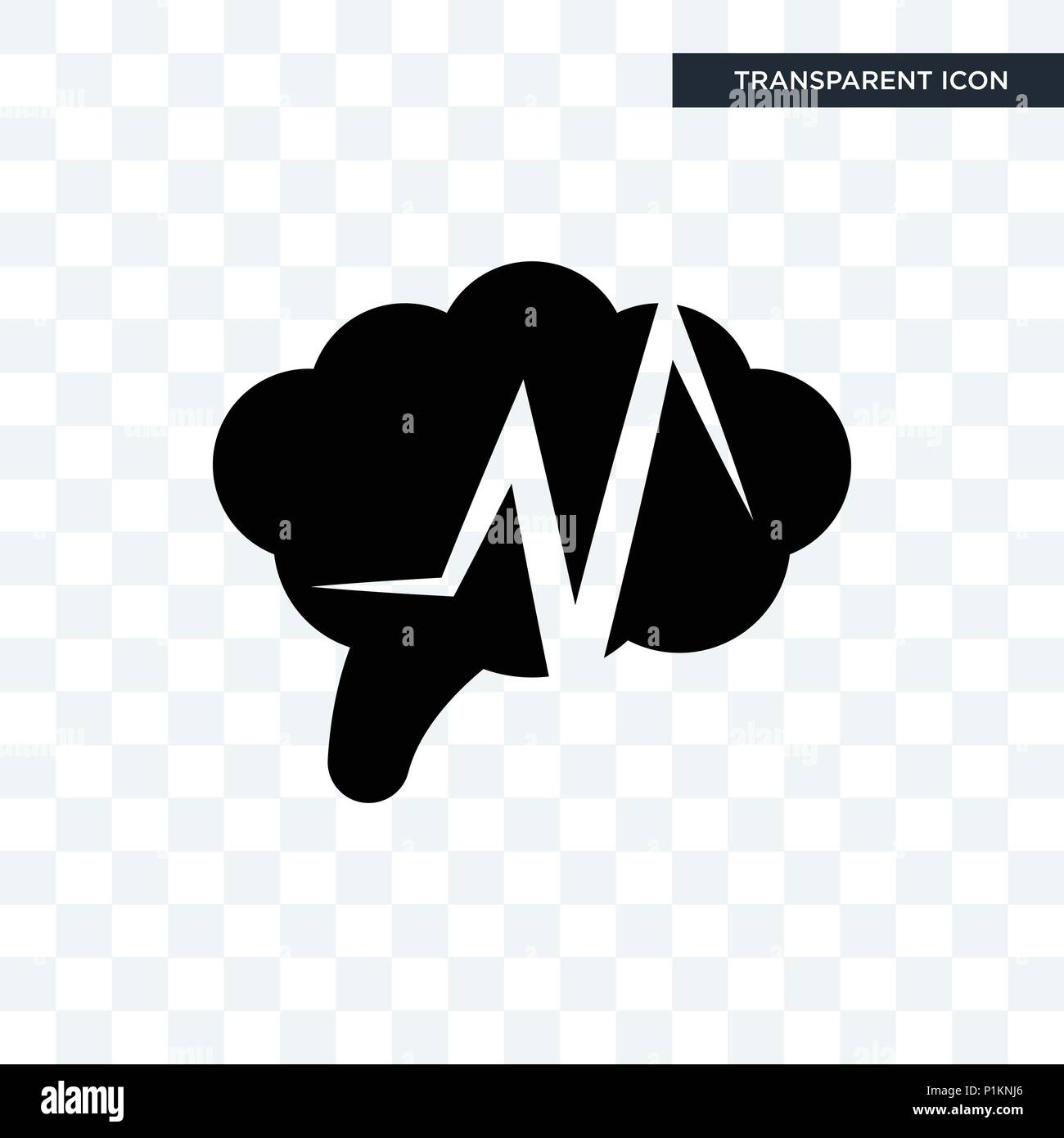 9665e3668e5 epilepsy vector icon isolated on transparent background, epilepsy logo  concept