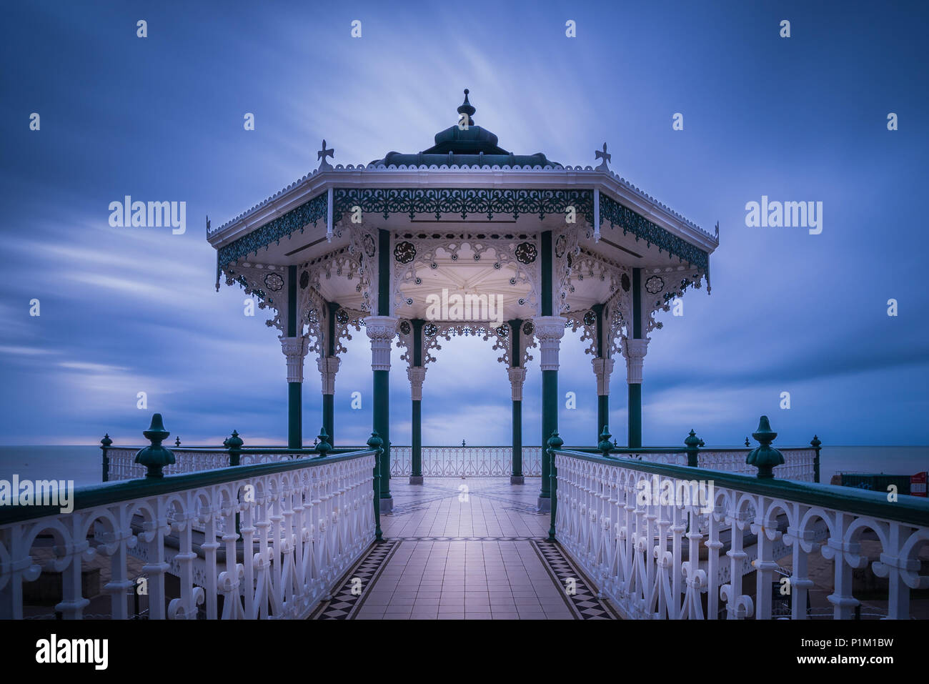 Brighton Bandstand, Sussex | Photo Taken By Andy Hornby Photography (http://www.PerfectExposure.Me) - Stock Image