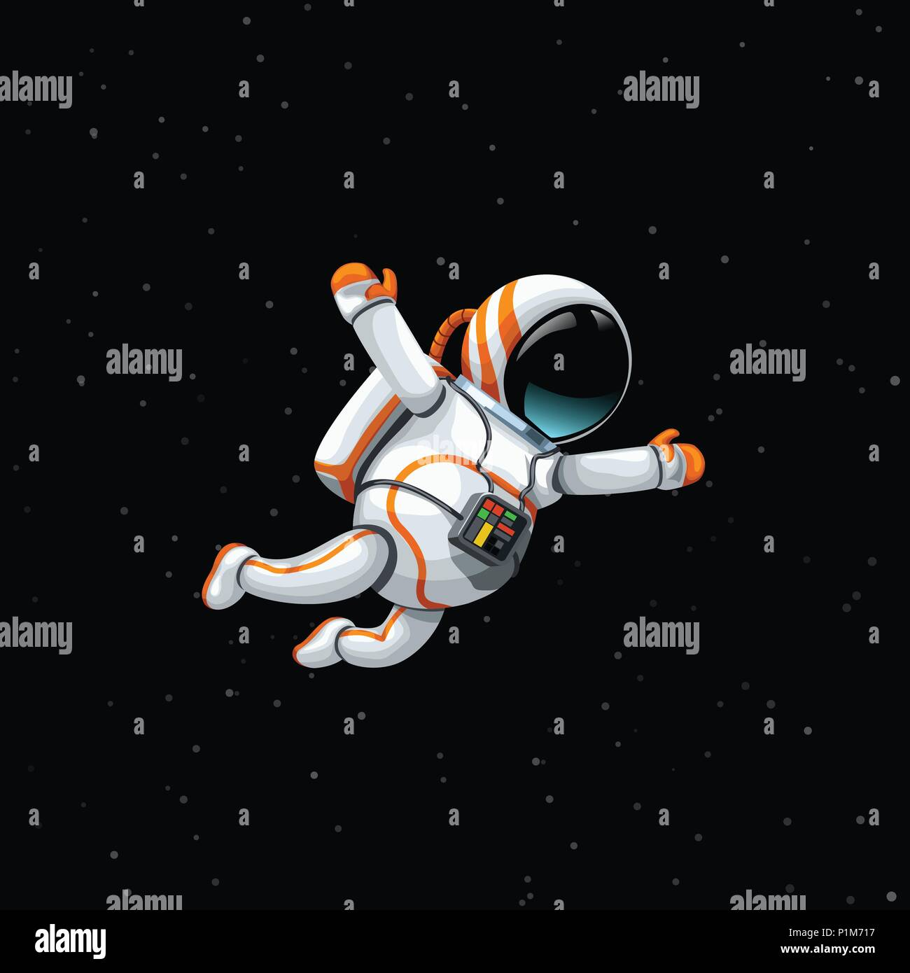 astronaut in deep space - photo #15