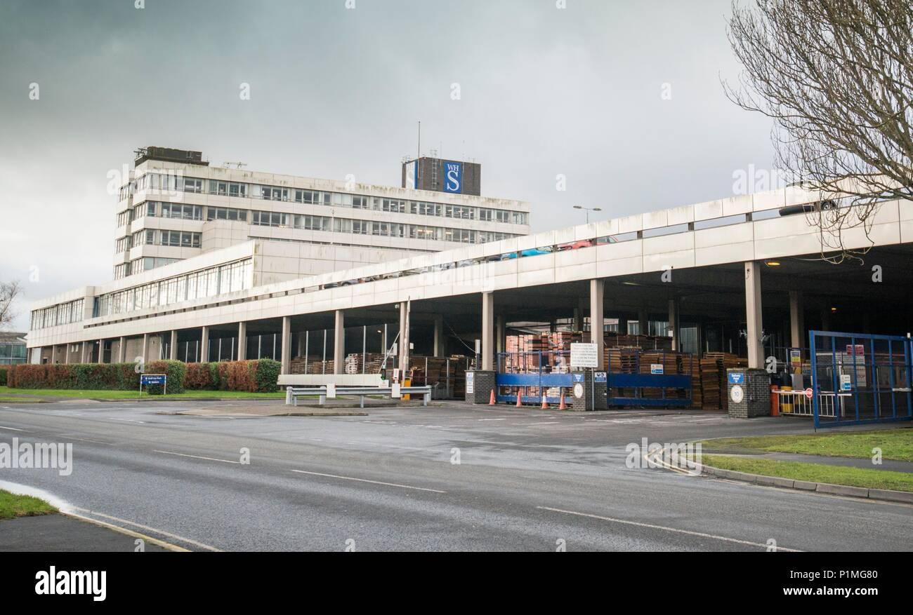 WH Smith Greenbridge, Swindon  05/01/18 - Stock Image