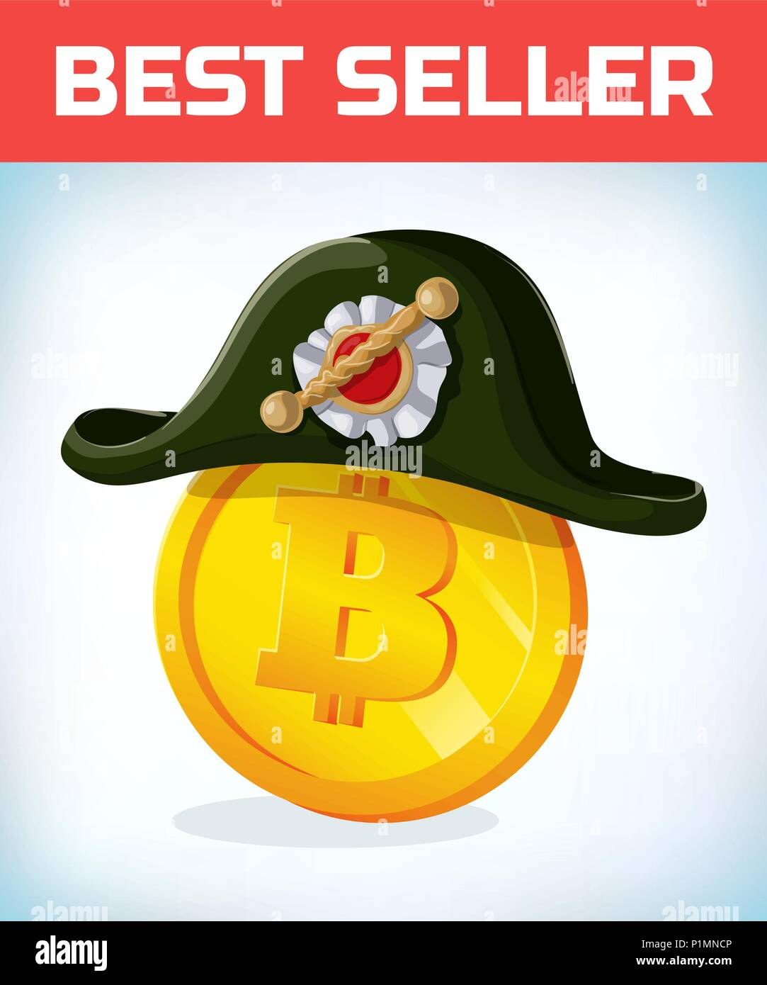 Bitcoin In French Napoleon Tricorn Hat Bitcoin Digital Currency
