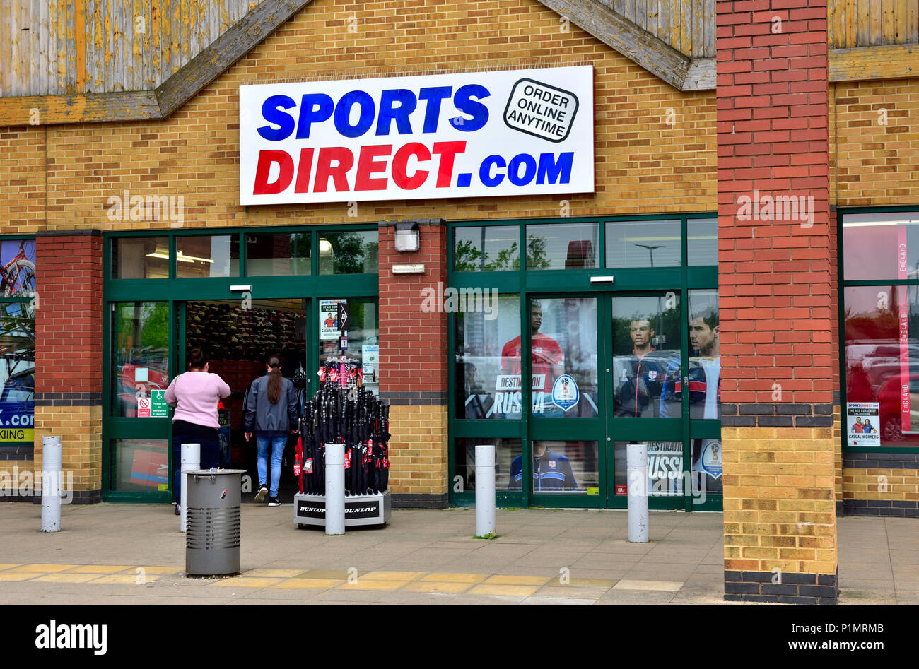 8025ec968f62 Outside SportsDirect sporting goods retailer store in Emersons Green Retail  Park