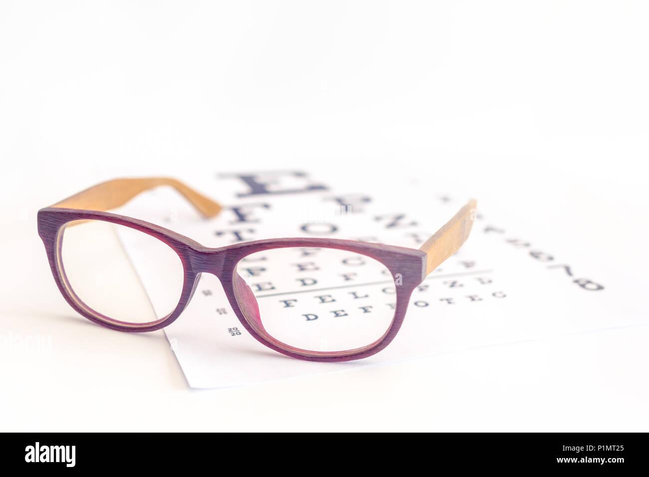 909031ee415 Eye Chart Blurred Stock Photos   Eye Chart Blurred Stock Images - Alamy