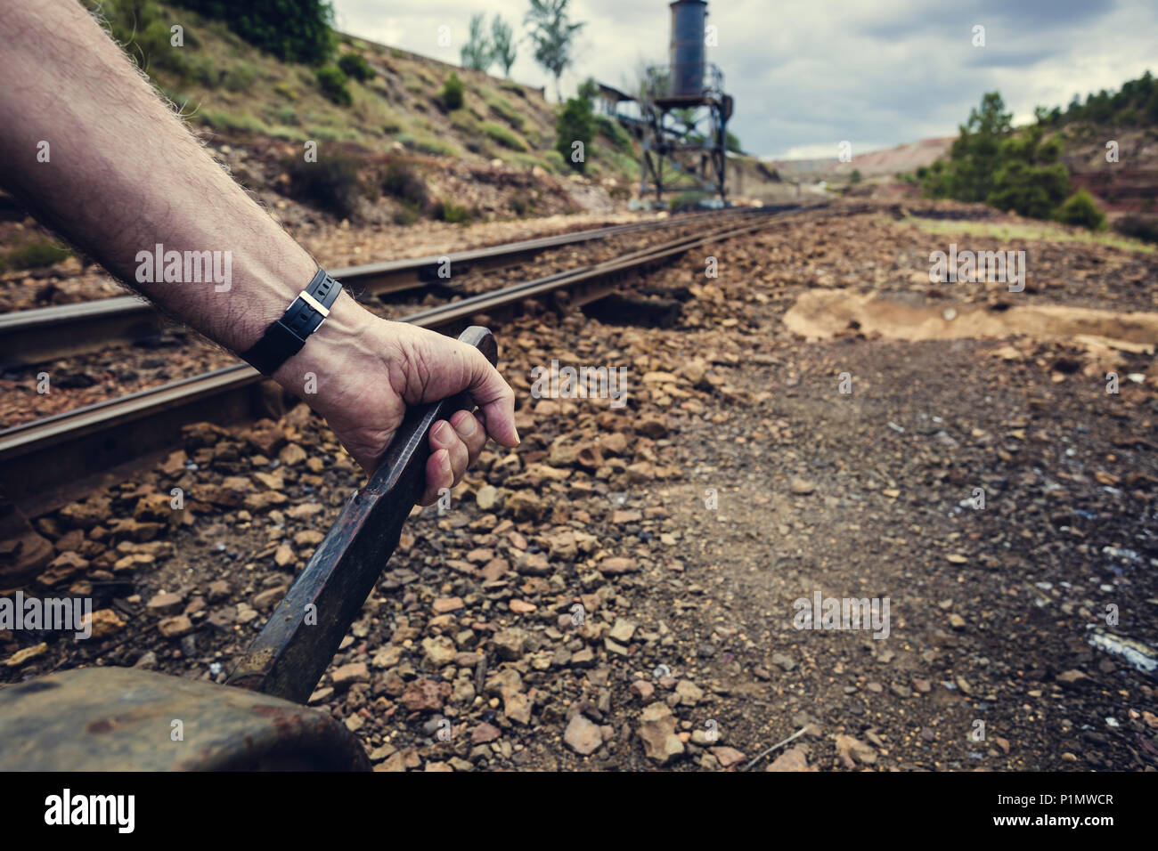 Change Lever For Trains : Water lever stock photos images alamy