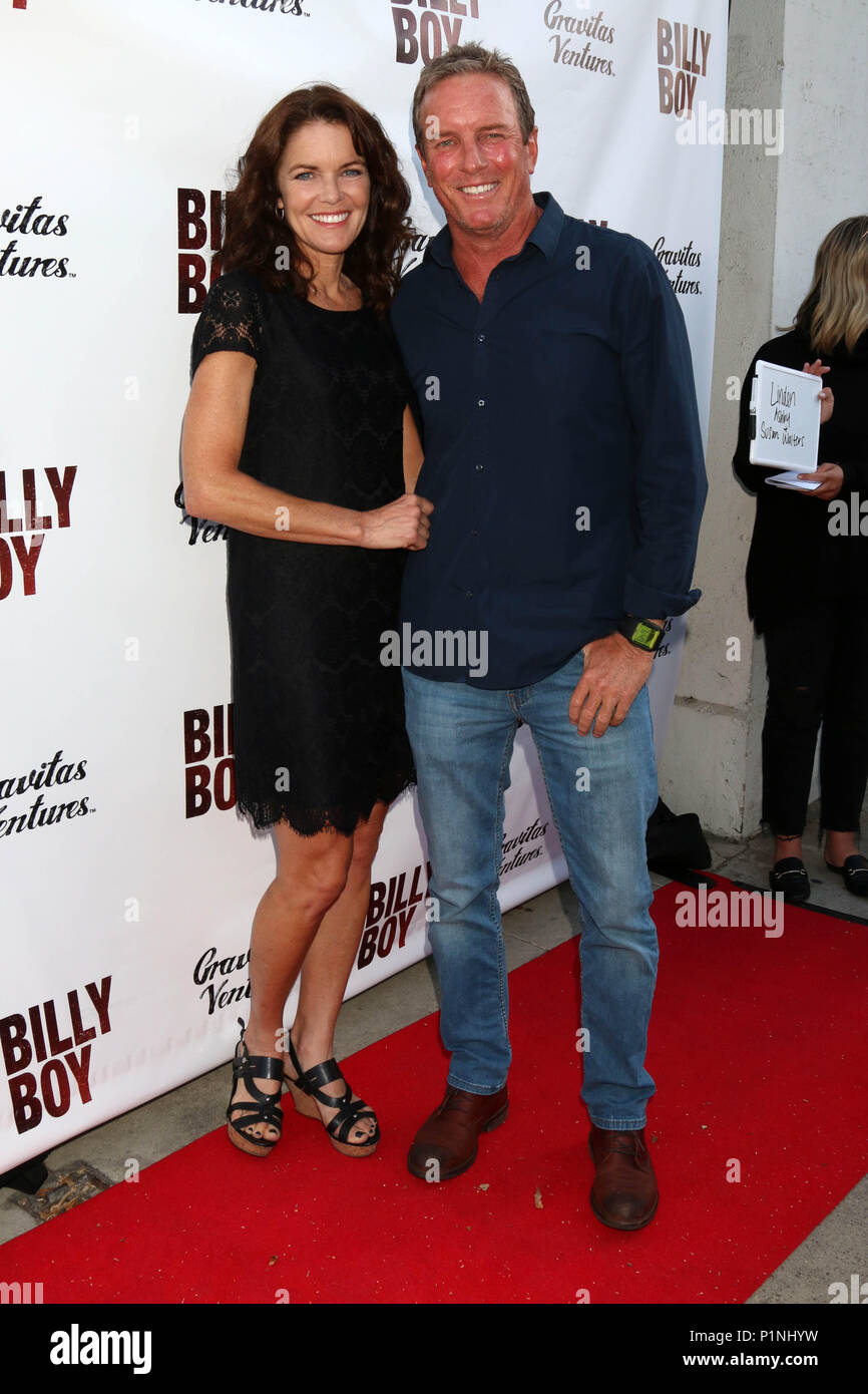Beverly Hills, Ca. 12th June, 2018. Susan Walters, Linden Ashby at the Billy Boy Premiere at Laemmle Music Hall in Beverly Hills, California on June 12, 2018. Credit: David Edwards/Media Punch/Alamy Live News - Stock Image