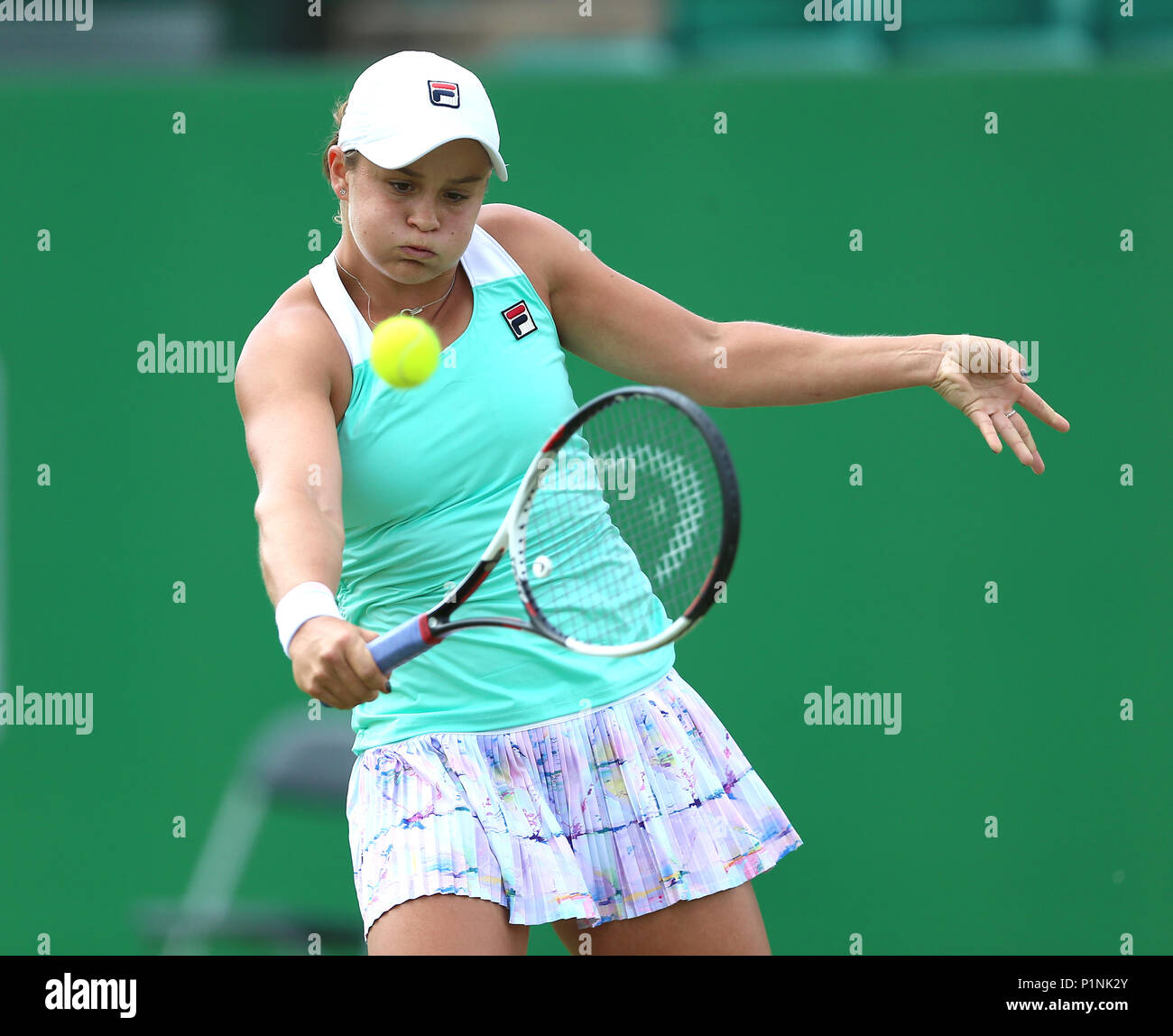 Ashleigh Barty: Nottingham Press Association Picture Date Stock Photos