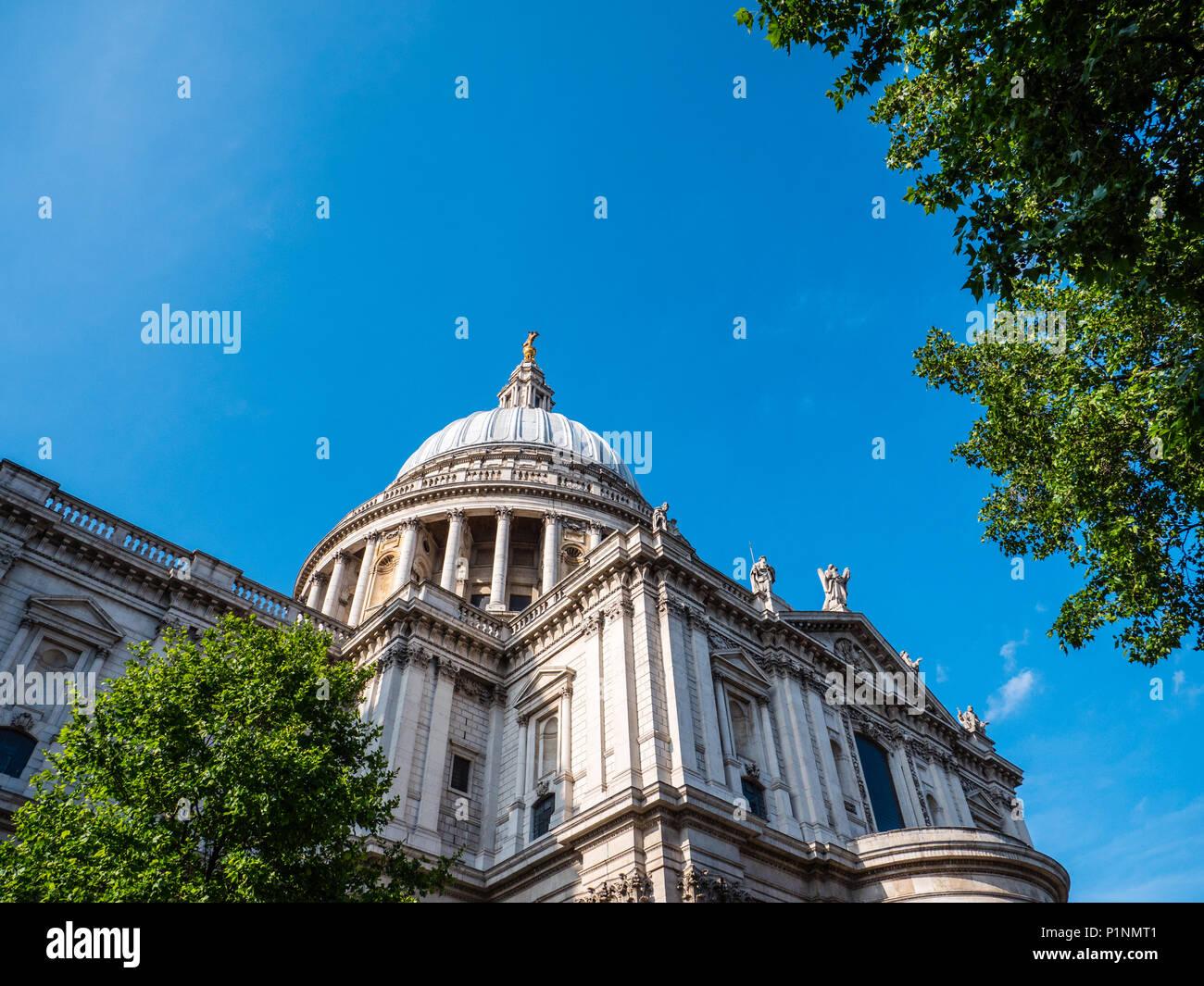St Pauls Cathedral, City of London, London, England, UK, GB. Stock Photo