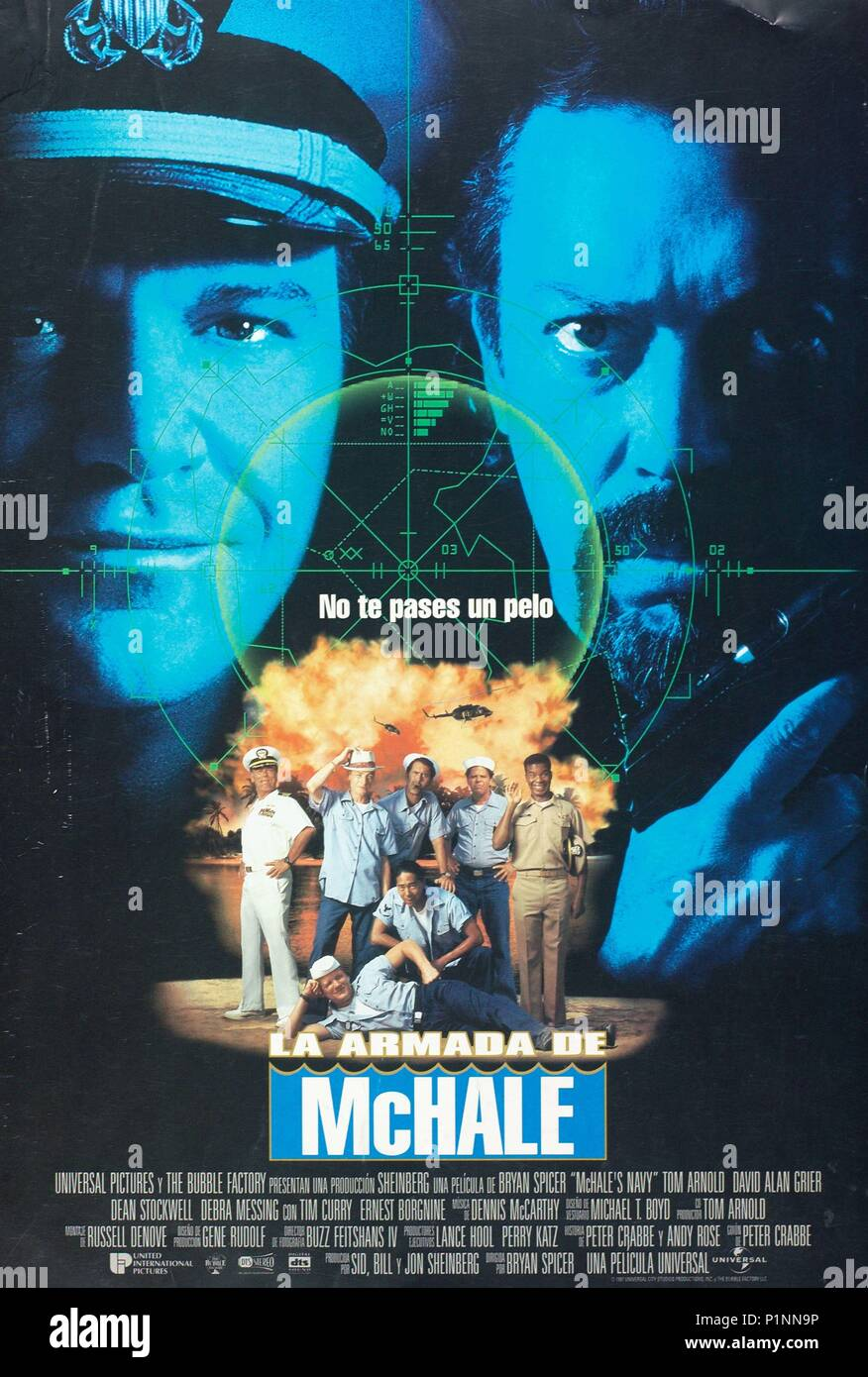 Original Film Title: MCHALE'S NAVY.  English Title: MCHALE'S NAVY.  Film Director: BRYAN SPICER.  Year: 1997. Credit: UNIVERSAL STUDIOS & THE BUBBLE FACTORY / Album - Stock Image