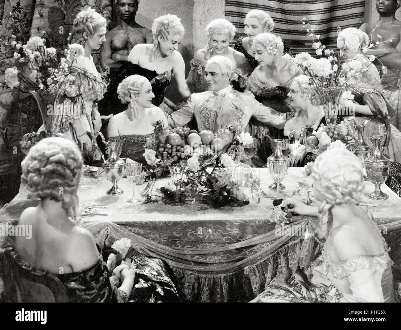 Original Film Title: LES AVENTURES DE CASANOVA.  English Title: LOVES OF CASANOVA.  Film Director: JEAN BOYER.  Year: 1947.  Stars: GIACOMO CASANOVA. Credit: SIRIUS / Album - Stock Image