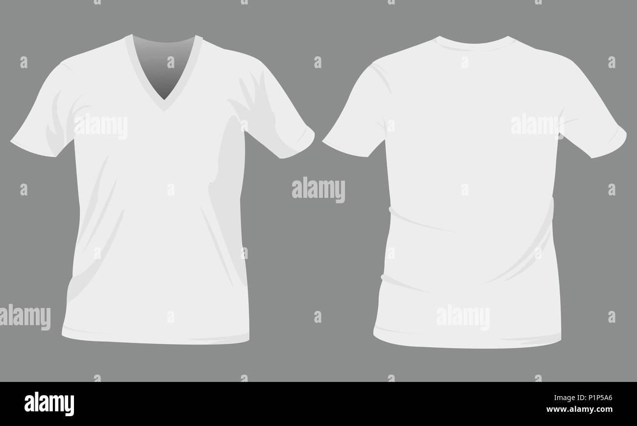 T-shirt templates Stock Vector
