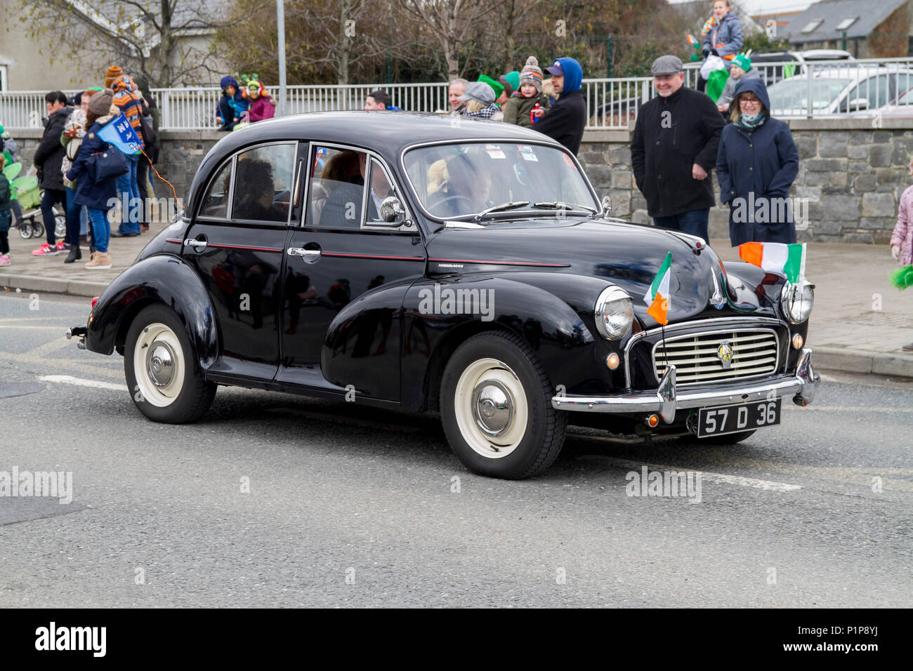 Morris Minor Traveller, Vintage Cars, sixties, 60s, old petro car ...