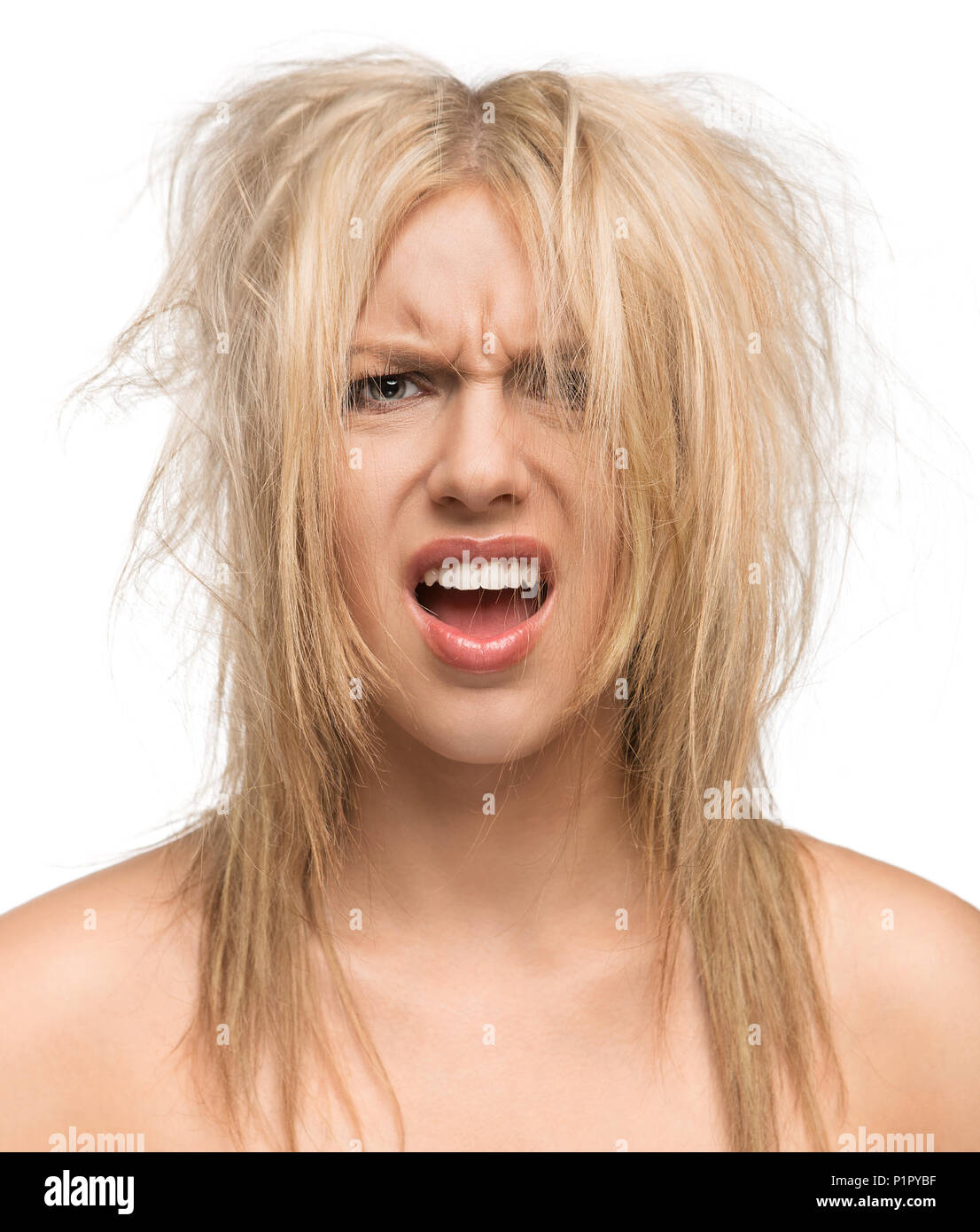 Bad Hair Day Funny Concept Stock Photo 207643507 Alamy