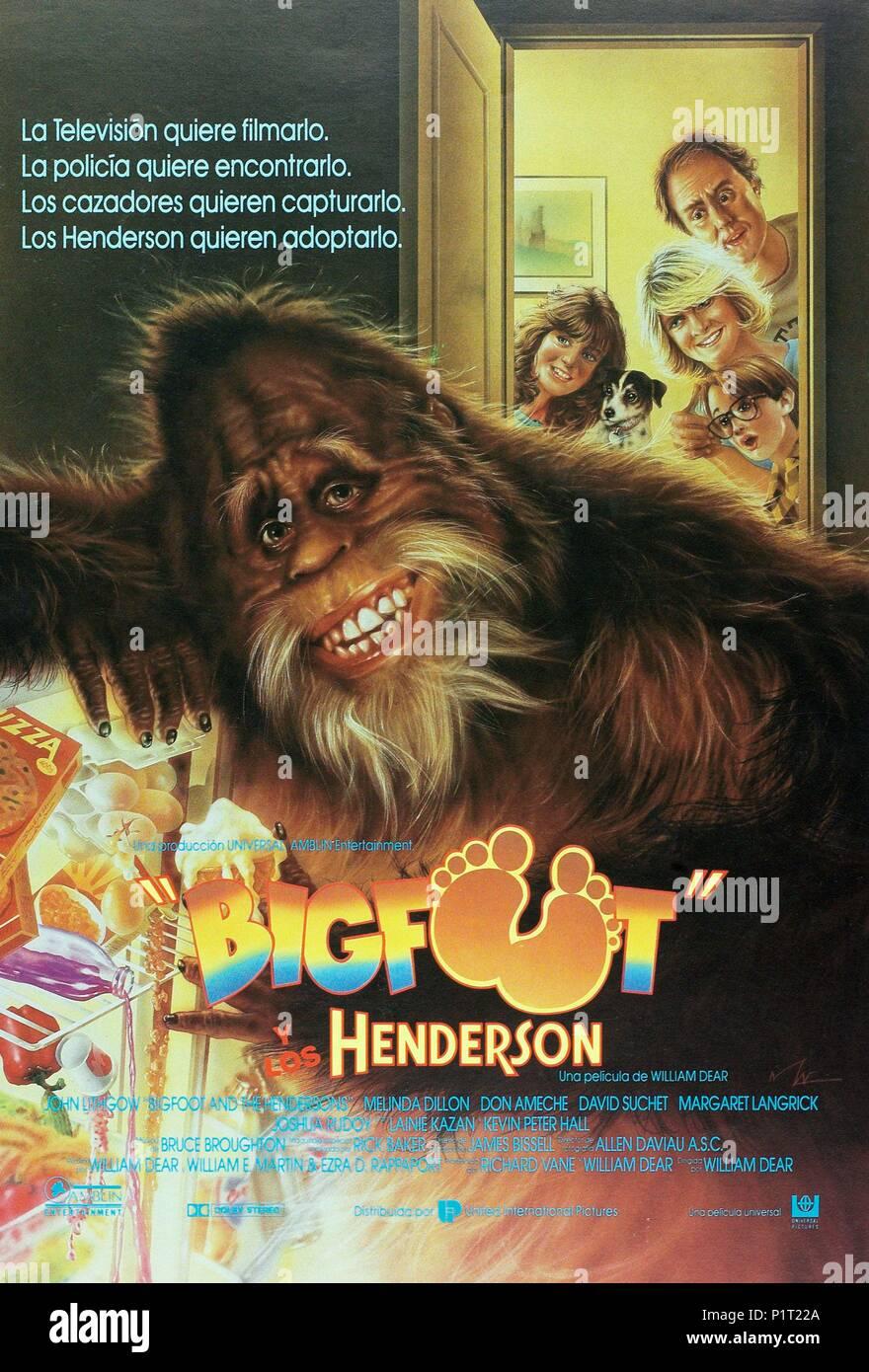 Bigfoot Und Die Hendersons Ganzer Film Deutsch