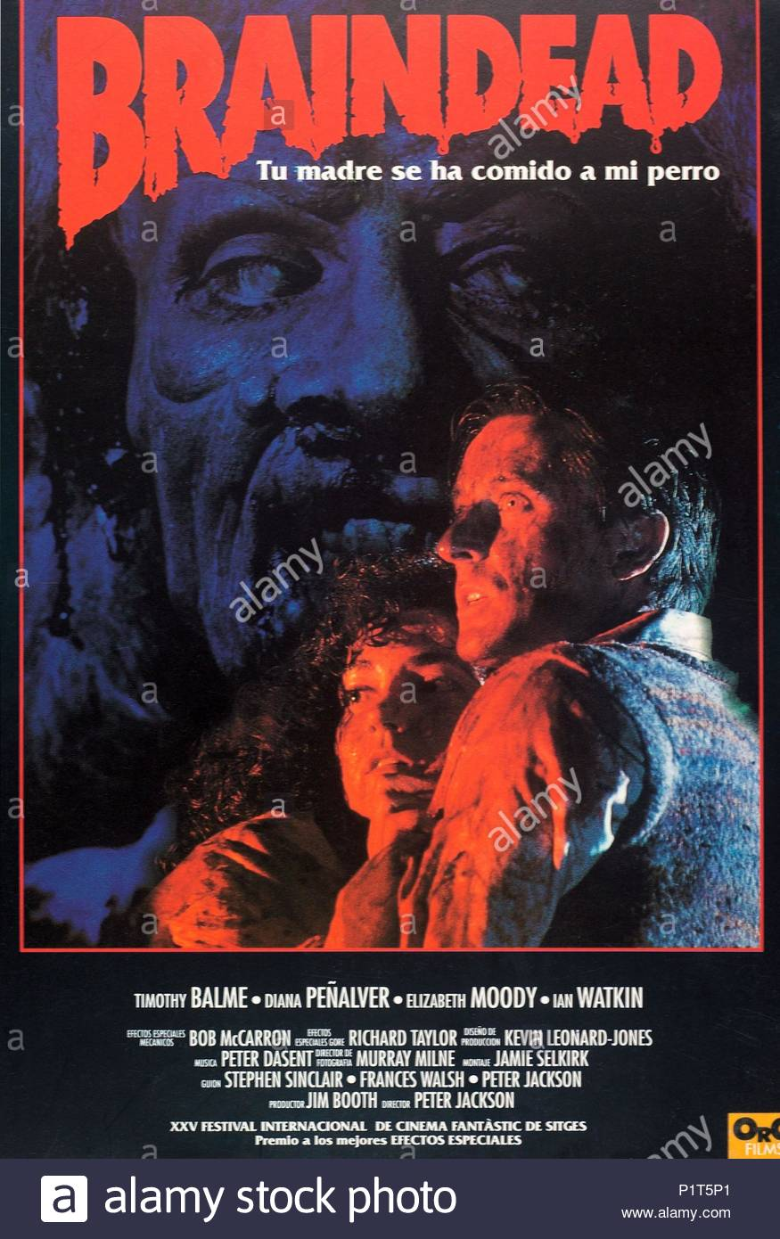 593778b3c62f English Title  BRAINDEAD. Film Director  PETER JACKSON. Year  1992. Credit   WINGNUT FILMS   Album