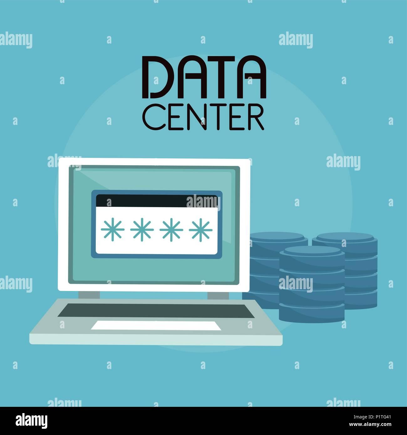 Data center technology - Stock Image