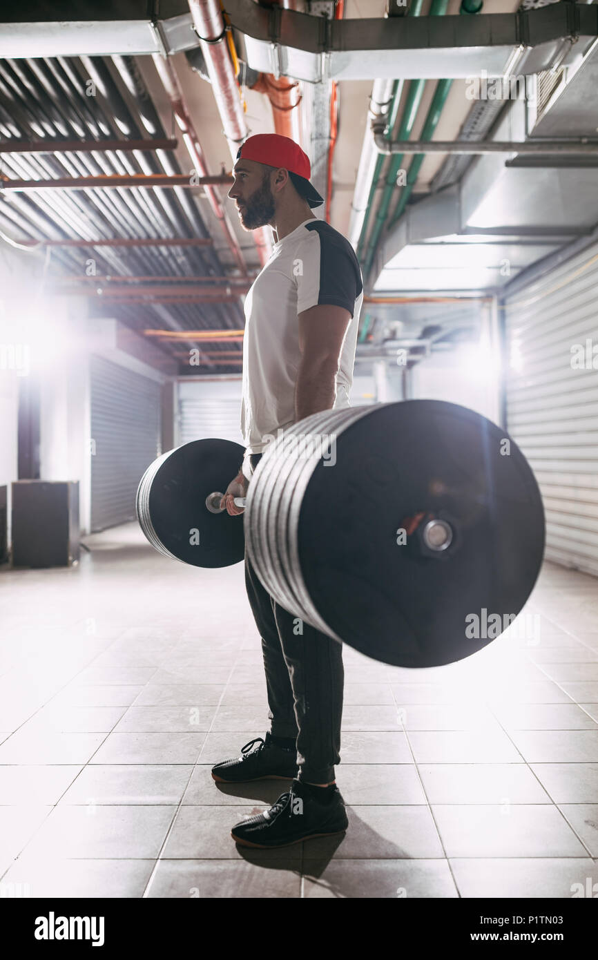 Garage gym stock photos garage gym stock images alamy