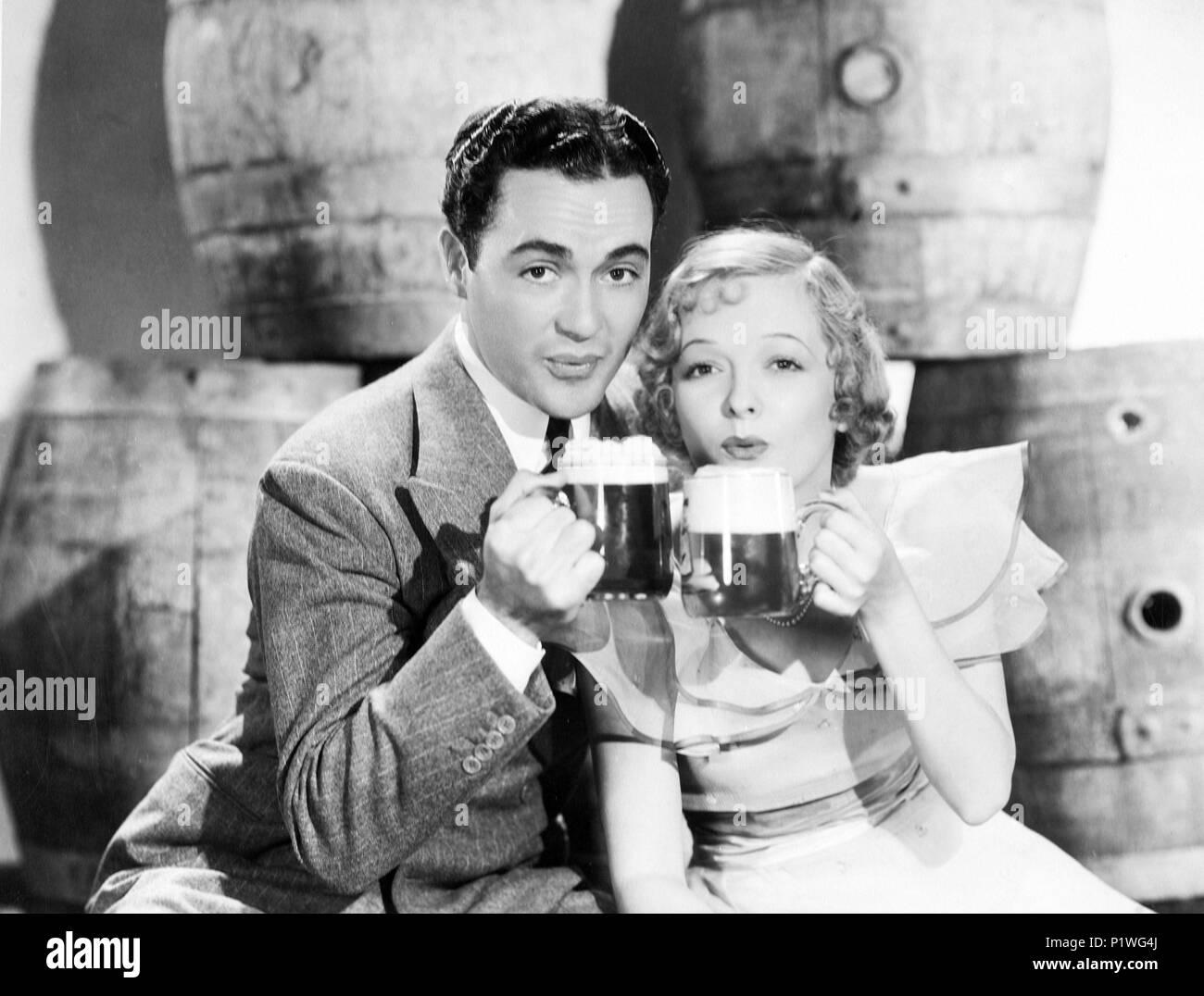 Original Film Title: BEST OF ENEMIES.  English Title: BEST OF ENEMIES.  Film Director: RIAN JAMES.  Year: 1933.  Stars: MARIAN NIXON; CHARLES 'BUDDY' ROGERS. Credit: FOX FILM CORPORATION / Album - Stock Image