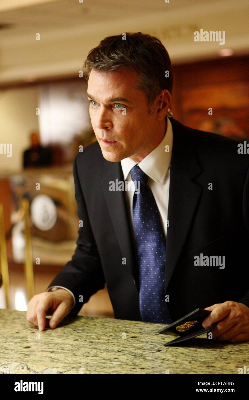 Original Film Title: SMOKIN' ACES.  English Title: SMOKIN' ACES.  Film Director: JOE CARNAHAN.  Year: 2007.  Stars: RAY LIOTTA. Credit: WORKING TITLE FILMS/RELATIVITY MEDIA/SCION FILMS LIMITED/ / Album - Stock Image