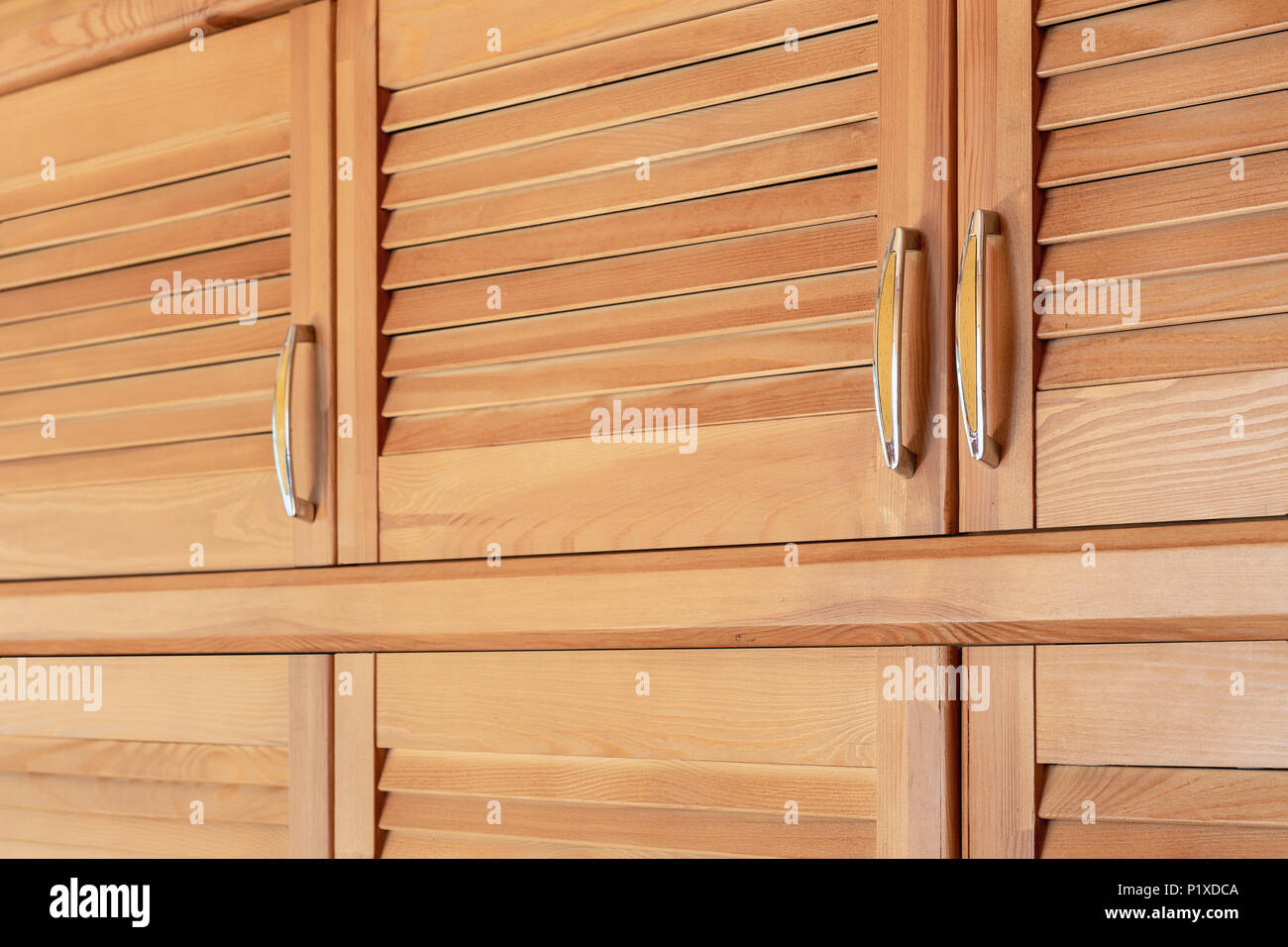 Modern Wooden Cabinet In Classic Rustic Style Details Of Wardrobe