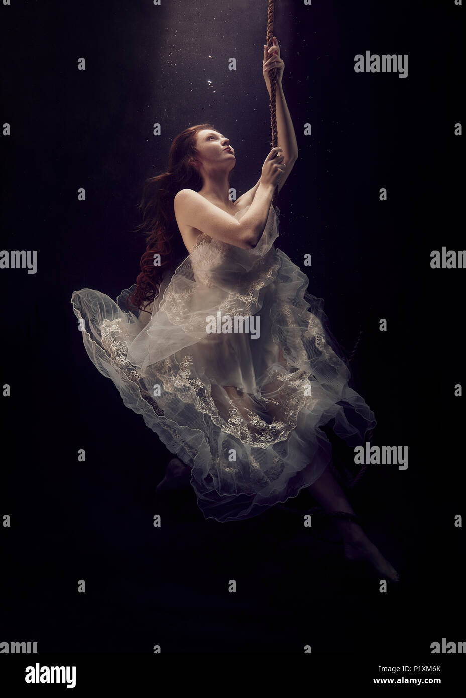 Underwater Fairytale - Stock Image