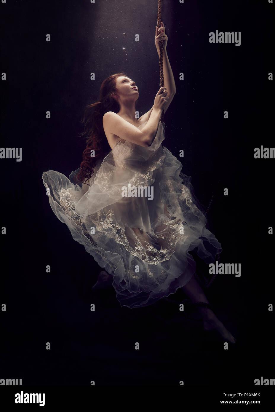 Underwater Fairytale - Stock Image