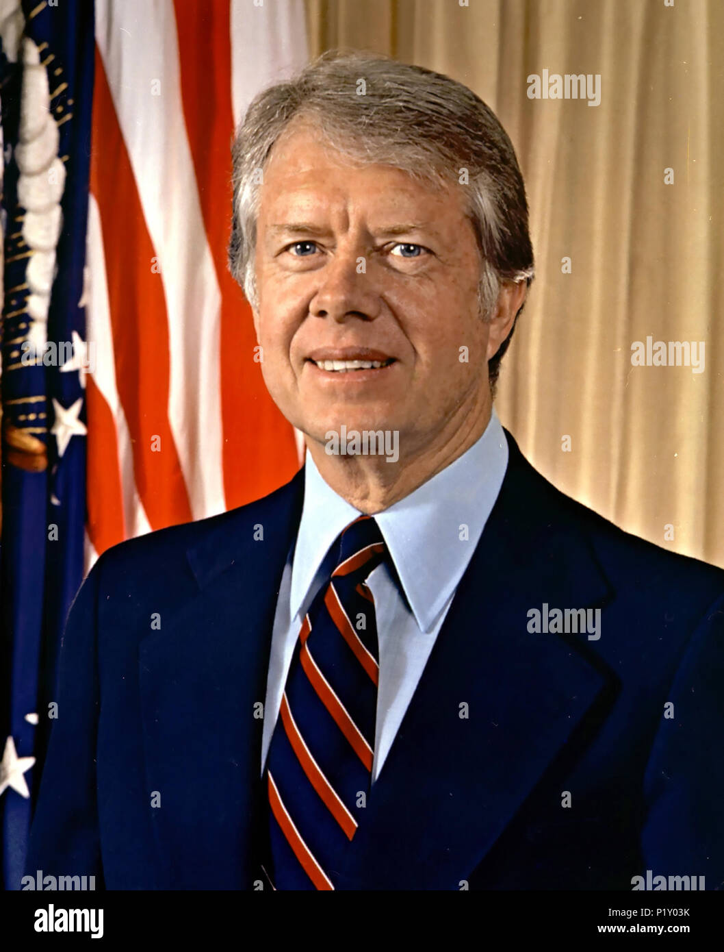 JIMMY CARTER as 39th President of the United States about 1977 - Stock Image