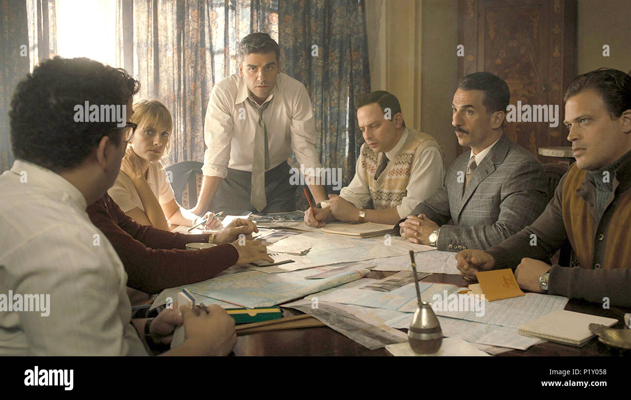OPERATION FINALE  2018 MGM film - Stock Image