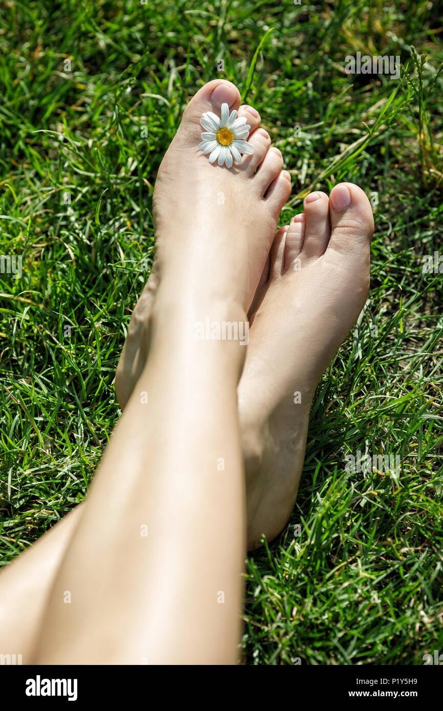 Amatoriali italiani and bare feet