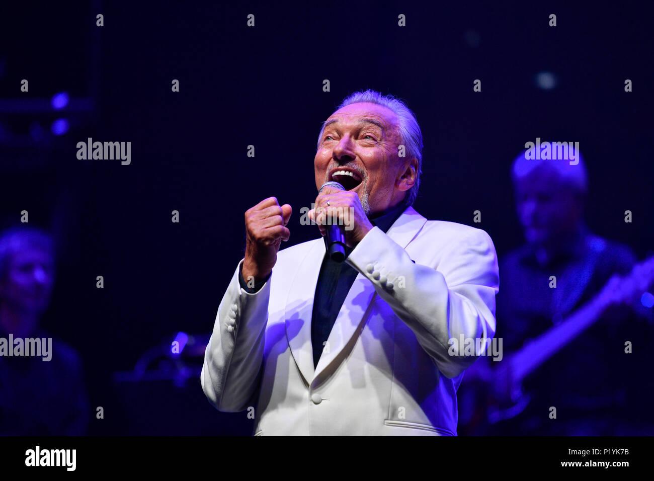 Karel Gott, singer, concert Stock Photo