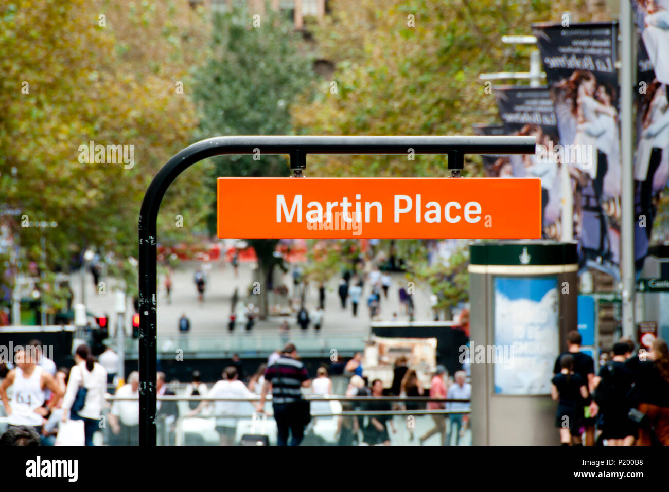 Martin Pl - Sydney - Australia - Stock Image