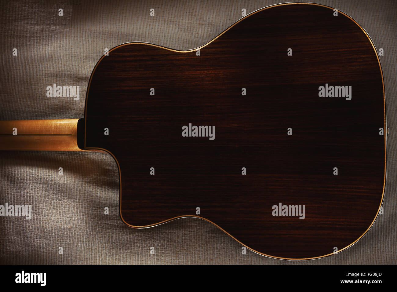 Guitar On Bed Stock Photos Guitar On Bed Stock Images Alamy