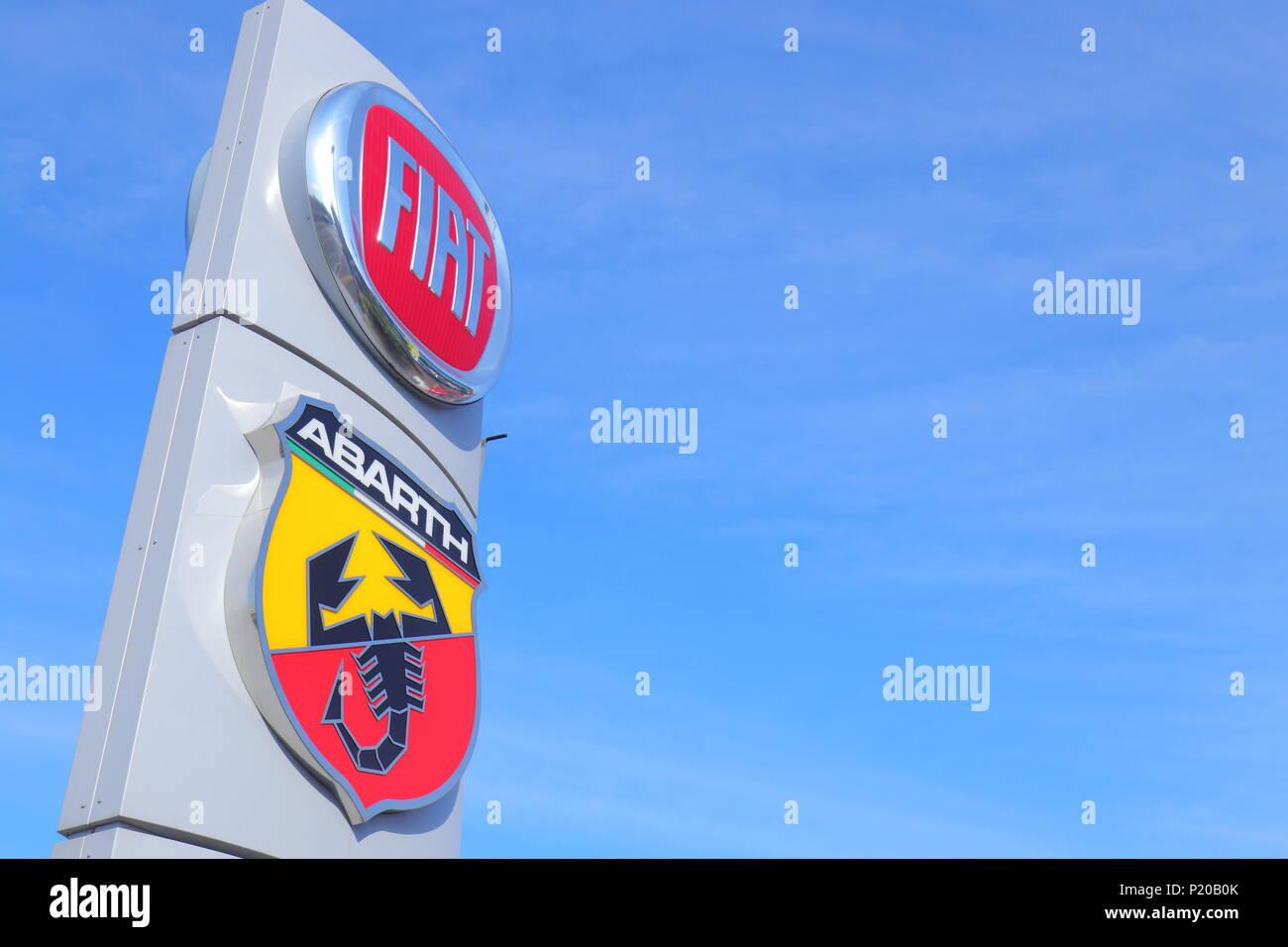 Fiat Sign Stock Photos Fiat Sign Stock Images Alamy