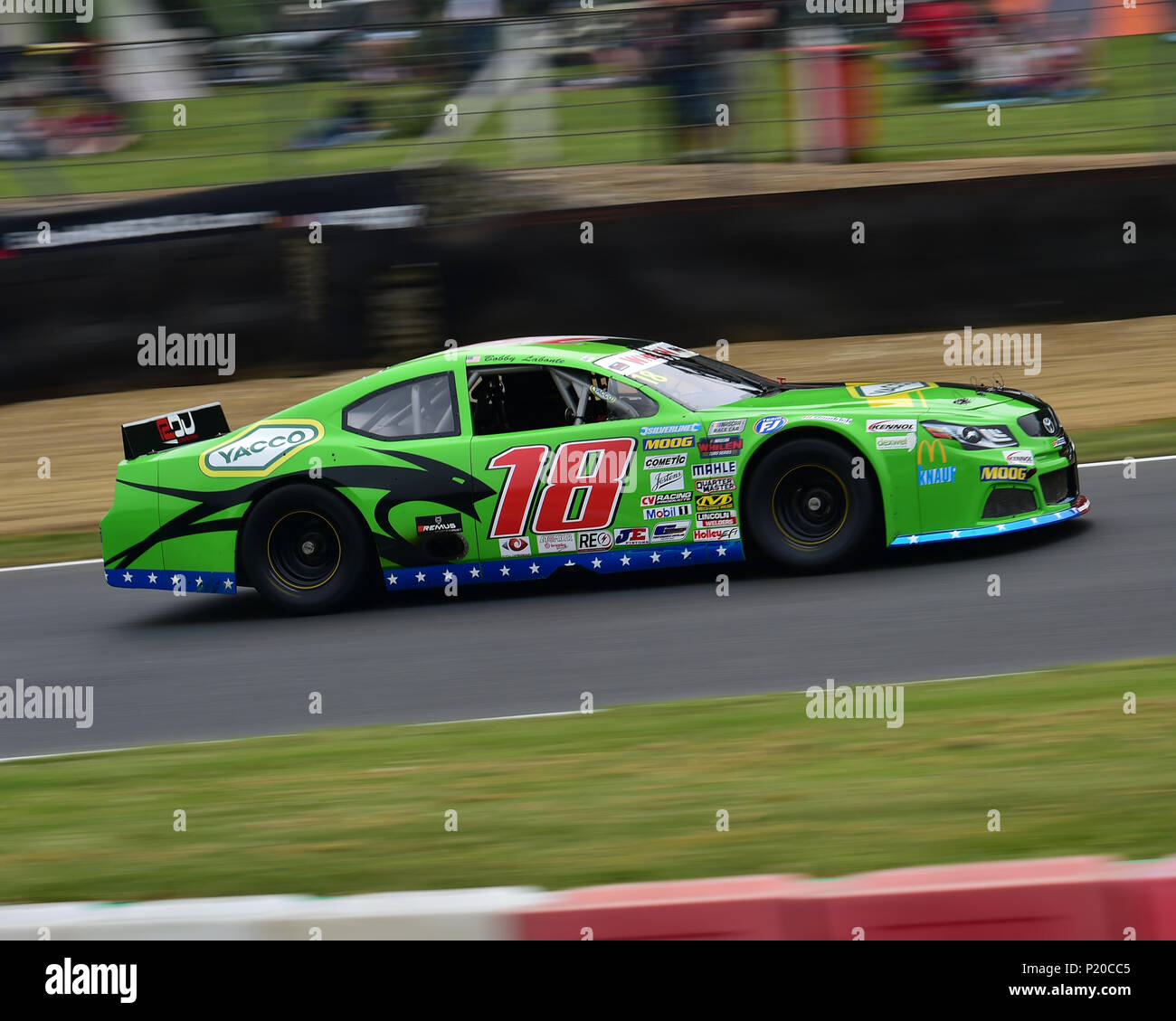 Bobby Labonte Toyota Camry Nascar Whelen Euro Series Elite 2