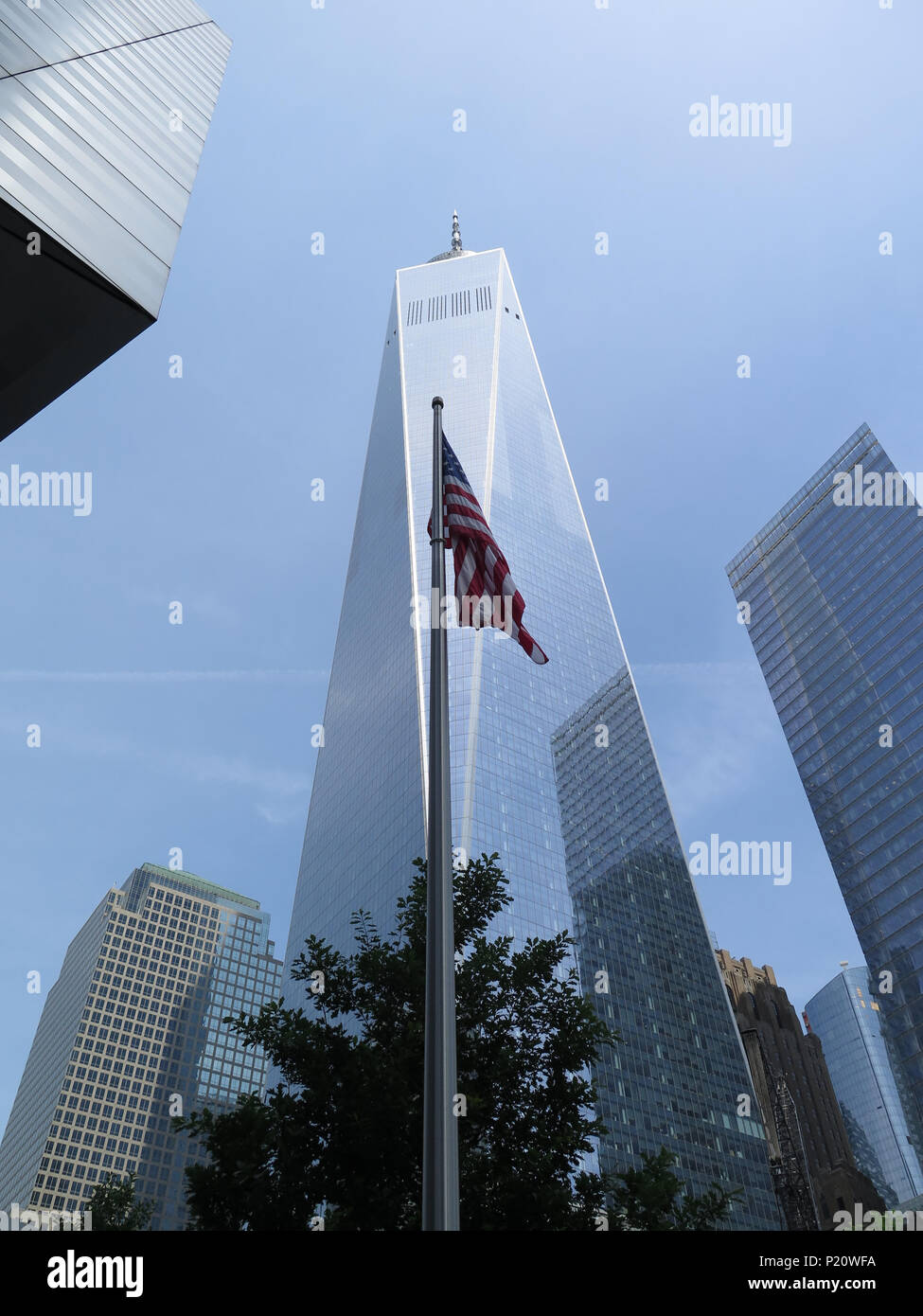 One World Trade Center / Freedom Tower - Stock Image