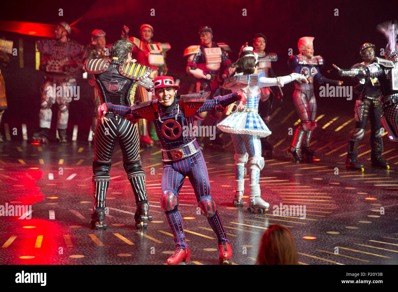Bochum Deutschland 12th June 2018 Caboose Scene From The Addition Of The Musical Starlight Express Final