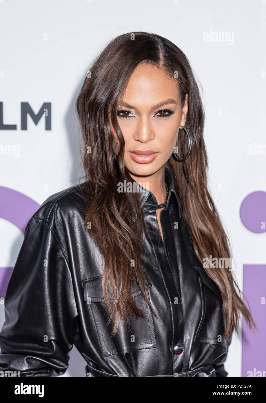 New York, NY, USA - June 12, 2018: Joan Smalls attends the New York special screening of the Netflix film 'Set It Up' at AMC Loews Lincoln Square Credit: Sam Aronov/Alamy Live News - Stock Image