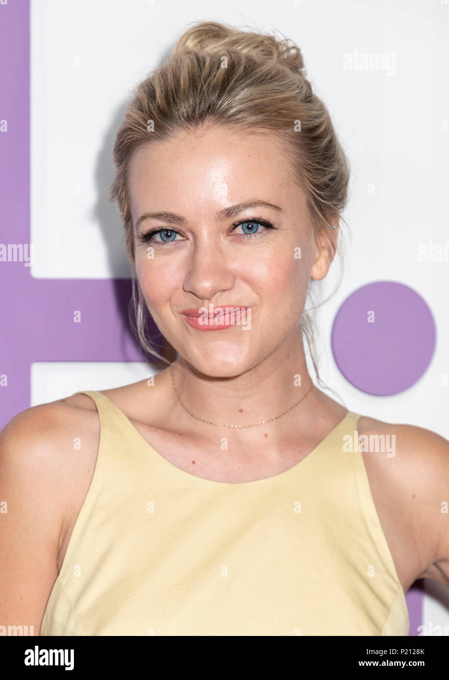 New York, NY, USA - June 12, 2018: Meredith Hagner attends the New York special screening of the Netflix film 'Set It Up' at AMC Loews Lincoln Square Credit: Sam Aronov/Alamy Live News - Stock Image