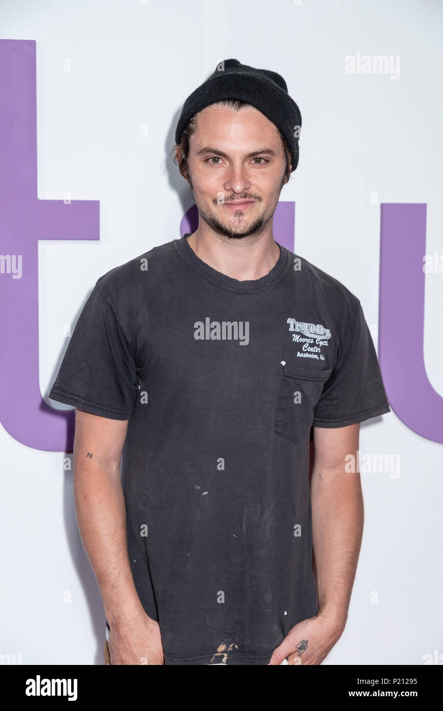 New York, NY, USA - June 12, 2018: Shiloh Fernandez attends the New York special screening of the Netflix film 'Set It Up' at AMC Loews Lincoln Square Credit: Sam Aronov/Alamy Live News - Stock Image