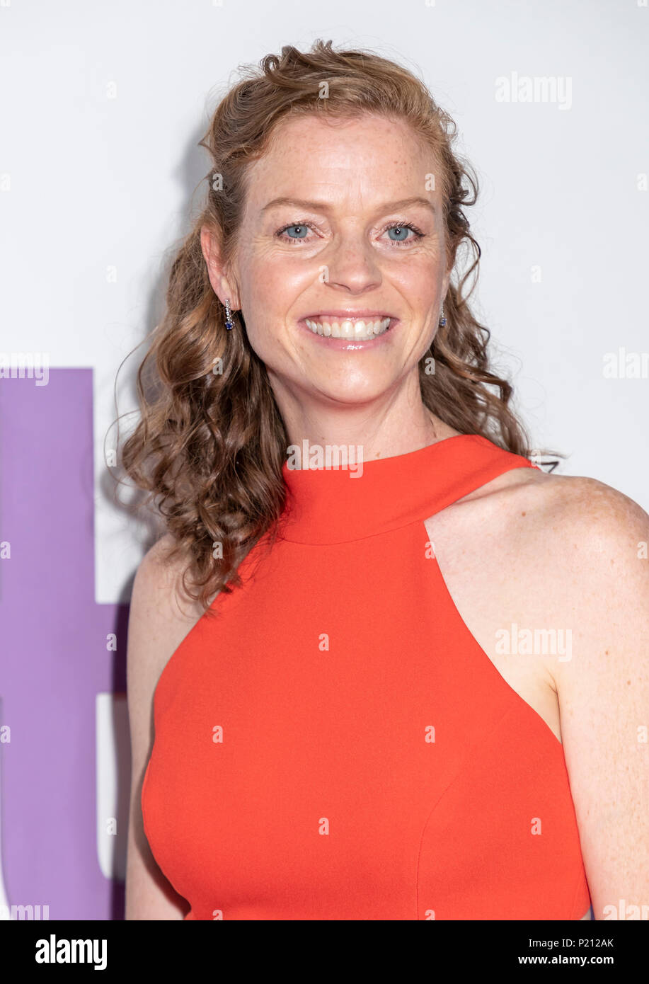 New York, NY, USA - June 12, 2018: Claire Scanton attends the New York special screening of the Netflix film 'Set It Up' at AMC Loews Lincoln Square Credit: Sam Aronov/Alamy Live News - Stock Image
